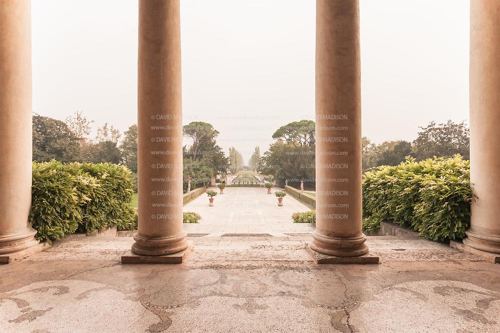 ITALY, Treviso, Fanzolo, Villa Emo, designed by Andrea Palladio c. 1559