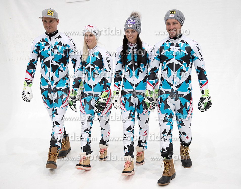 08.10.2016, Olympia Eisstadion, Innsbruck, AUT, OeSV Einkleidung Winterkollektion 2016, im Bild x // during the Outfitting of the Ski Austria Winter Collection at the Olympia Eisstadion in Innsbruck, Austria on 2016/10/08. EXPA Pictures © 2016, PhotoCredit: EXPA/ Johann Groder