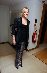 NOELLE RENO  at a lunch hosted by Fawaz Gruosi to celebrate the launch of De Grisogono's latest watch 'Be Eight' held at Nobu, 19 Old Park Lane, London W1 on 30th November 2006.<br /><br />NON EXCLUSIVE - WORLD RIGHTS