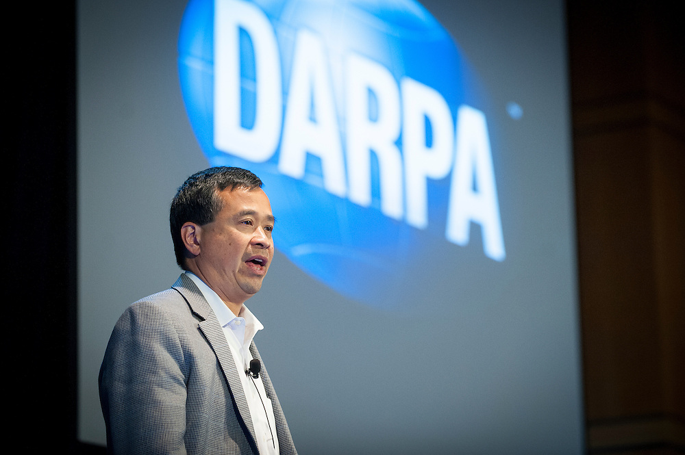 "Dr. Geoff Ling, Director of DARPA's Biological Technologies Office (BTO), welcomes attendees to the ""Biology Is Technology"" symposium in New York City on June 23, 2015, and explains how careers with DARPA offer the possibility to pursue breakthroughs that drive technological revolutions and have profound impacts on people's lives.The two-day event was held by BTO to bring together leading-edge technologists, start-ups, industry, and academic researchers to look at how advances in engineering and information sciences can be used to drive biology for technological advantage."