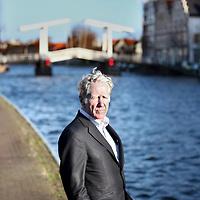 Nederland, Haarlem , 25 november 2012..De Amerikaanse schrijver analist Lester R.Brown..Foto:Jean-Pierre Jans