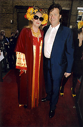 Katherine Boorman and Danny Moynihan at a party following the premier of Boogie Woogie held at The Westbury Hotel, Conduit Street, London on 13th April 2010.