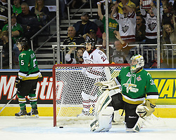 Action from Game 4 of the 2014 MasterCard Memorial Cup in London, ON on Monday May 19, 2014. The Guelph Storm defeated the Val-d'Or Foreurs 6-3. Photo by Aaron Bell/CHL Images