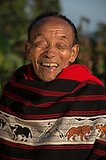 Ao Naga traditional shawls<br /> Ao Naga headhunting tribe<br /> Nagaland,  ne India