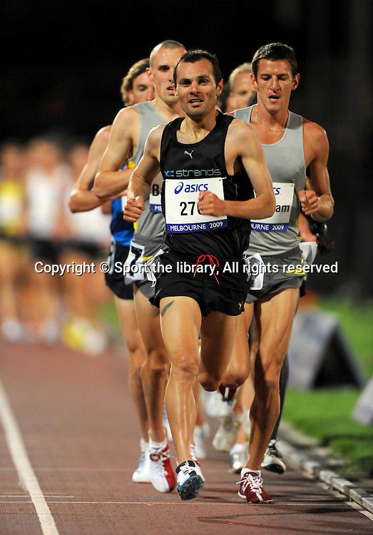 Mike Aish (NZ) 5000m<br /> 2009 IAAF World Athletics Tour<br /> Melbourne Grand Prix Meet<br /> Olympic Park, AUS/March 5th<br /> &copy; Sport the library / Jeff Crow