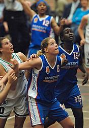 20-04-2005 BASKETBAL: LEVI - PERIK JUMPERS: AMSTERDAM<br /> Levi Amsterdam, wint de eerste playoff wedstrijd met 85-65 / Joreen Robben<br /> ©2005-WWW.FOTOHOOGENDOORN.NL