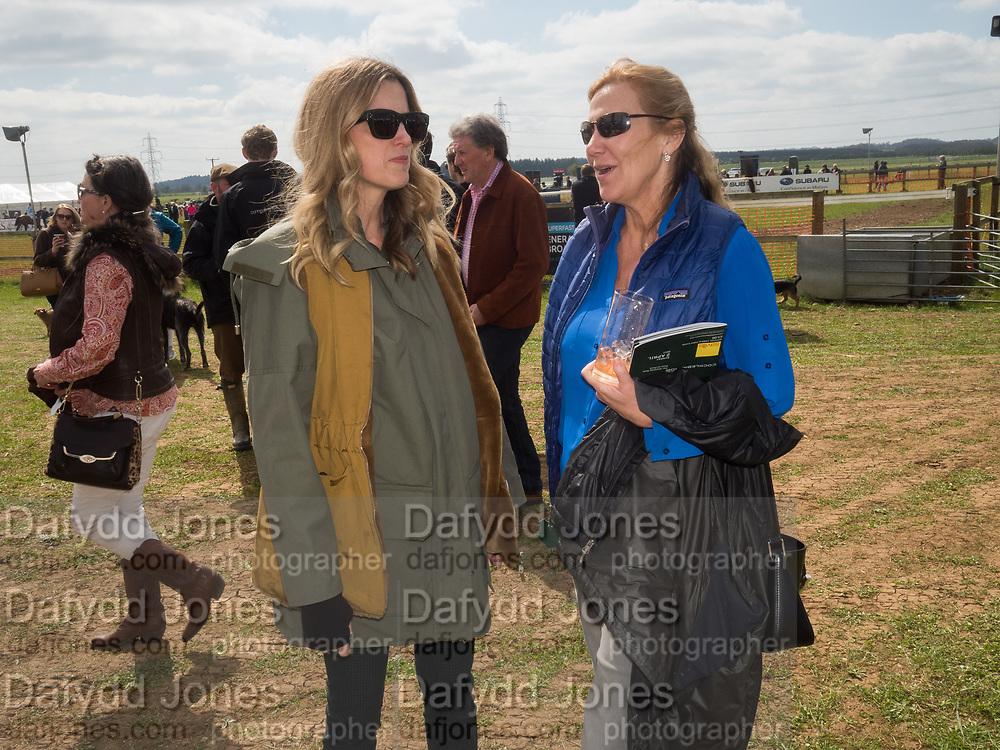 AMANDA BROOKS; EUGENIA WINWOOD, Heythrop Point to Point, Cocklebarrow, 2 April 2017.
