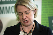 © Licensed to London News Pictures. 24/02/2015. London, UK. Natalie Bennet, Leader of the Green Party. The Green Party Campaign Launch ahead of the UK general election at RSA House in Central London today 24th February 2015. Photo credit : Stephen Simpson/LNP