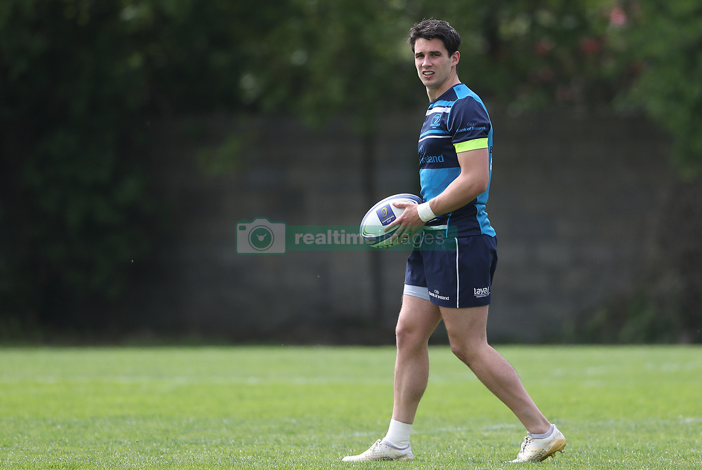 Leinster's Joey Carbery during the media day ahead of the 2018 Champions Cup Final at University College Dublin.