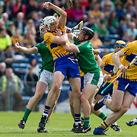 Clare's Conor Cleary  V Limerick's Cian Lynch and Peter Casey