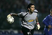 Siena 23-10-04<br />Campionato di calcio Serie A 2004-05<br />Siena Juventus<br />nella  foto Buffon<br />Foto Snapshot / Graffiti