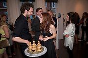 JULIET OLDFIELD, New Symphoney.-  Simon Oldfield Gallery launch. First Floor, 9 Henrietta Street, WC2E.. -DO NOT ARCHIVE-© Copyright Photograph by Dafydd Jones. 248 Clapham Rd. London SW9 0PZ. Tel 0207 820 0771. www.dafjones.com.