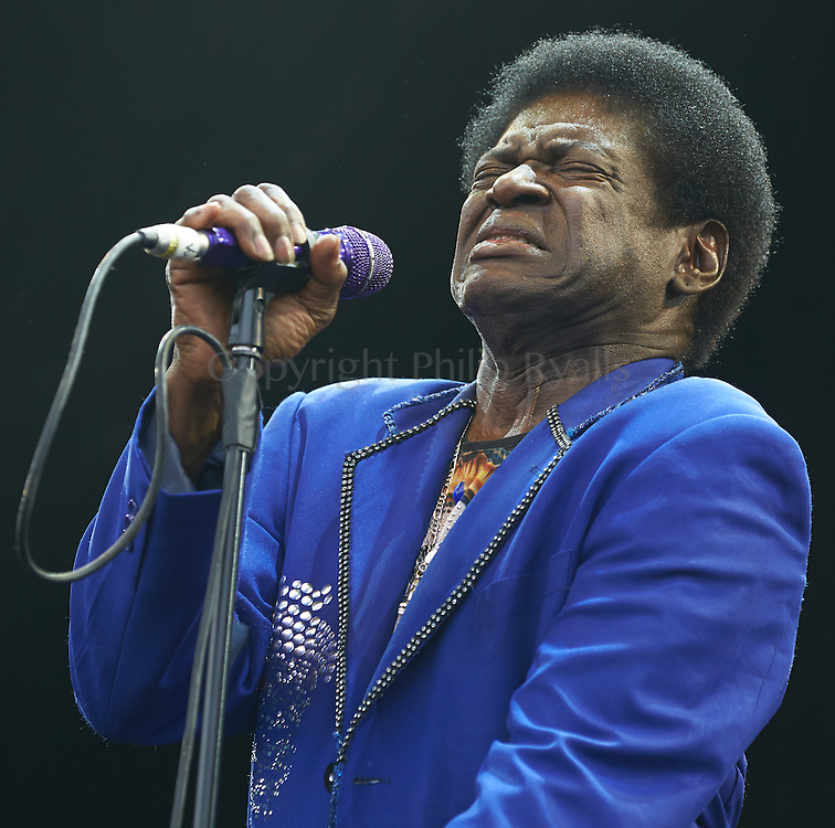 MALMESBURY, UK - JULY 29: Charles Bradley performs on stage at Womad on July 29th, 2016 in Wiltshire, United Kingdom. (Photo by Philip Ryalls)**Charles Bradley
