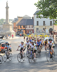 Over 300 cyclists took part in the Westportif on saturday last<br /> covering an 80km & 160km cycle route proceeds from the cycle were in aid of Pieta House.<br /> Pic Conor McKeown