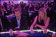 WILLIAM SETH-SMITH; LAURA OREMOND;  Quintessentially Foundation Poker Night,  annual poker night,  to raise money for Right to play, Greenhouse and Place2Be. Savoy. 13 November 2014.