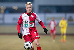 Luka Stor of NK Aluminij during football match between NK Domzale and NK Aluminij in Round #24 of Prva liga Telekom Slovenije 2017/18, on March 18, 2018 in Sports park Domzale, Domzale, Slovenia. Photo by Urban Urbanc / Sportida
