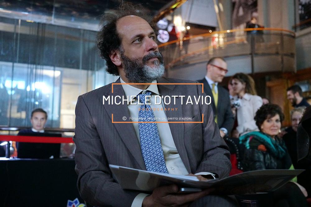 A Luca Guadagnino il Diploma Honoris Causa dell'Accademia Albertina di Torino, Museo Nazionale del Cinema - 13 aprile 2018.