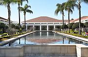 Reflecting Pool at the Nixon Library