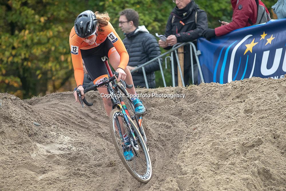 04-11-2018: Wielrennen: EK veldrijden: Rosmalen. <br />Manon Bakker