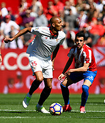 Steven N'zonzi of Sevilla FC during the Spanish championship Liga football match between Sevilla FC and Sporting Gijon on April 2, 2017 at Sanchez Pizjuan stadium in Sevilla, Spain - photo Cristobal Duenas / Spain / ProSportsImages / DPPI
