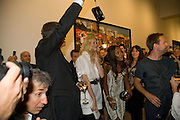 MARIO TESTINO; CLAUDIA SCHIFFER; NAOMI CAMPBELL  Mario Testino: Obsessed by You -  private view<br />