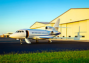 Dassault Falcon 900B, photographed at Piedmont Triad International Airport in Greensboro, North Carolina.