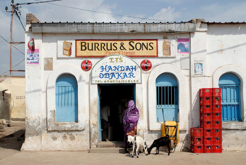 Shop in Tadjoura,Djibouti