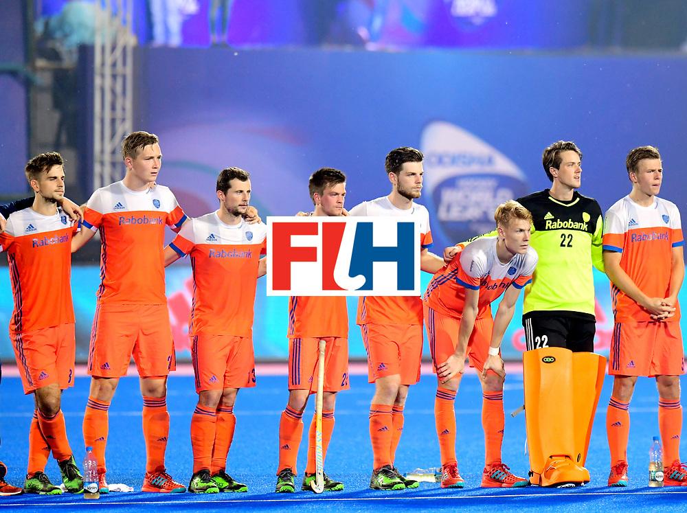 Odisha Men's Hockey World League Final Bhubaneswar 2017<br /> Match id:16<br /> Germany v Netherlands<br /> Foto: Shoot Out <br /> COPYRIGHT WORLDSPORTPICS FRANK UIJLENBROEK