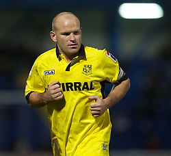 BURY, ENGLAND - New Year's Day Tuesday, January 1, 2013: Tranmere Rovers' captain Andy Robinson in action against Bury during the Football League One match at Gigg Lane. (Pic by David Rawcliffe/Propaganda)
