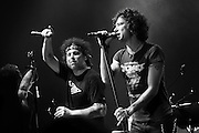 Andres Calamaro and Enrique Bunbury together in LA