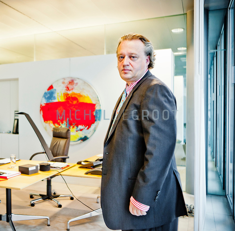 Gilbert van Hassel, ceo van ING Investments