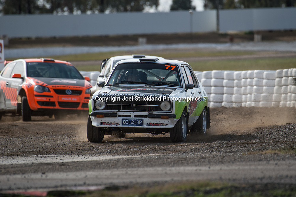 Mike Conway - Ford Escort MK2 - Rallycross Australia - Winton Raceway - 16th July 2017