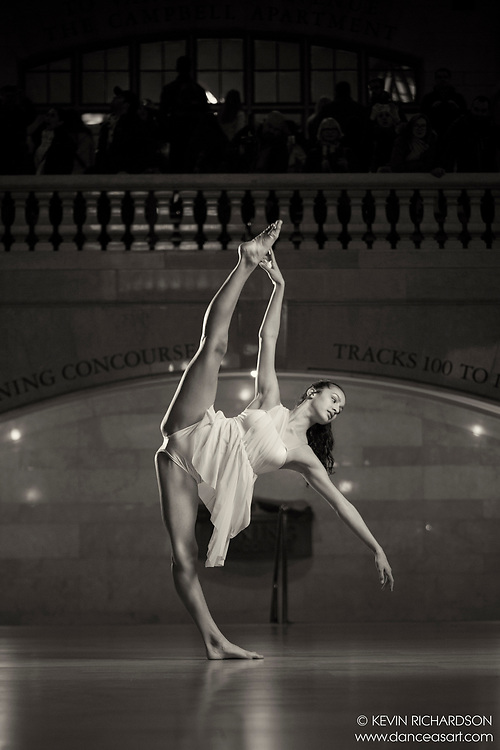 Dance As Art The New York Photography Project Black and White Grand Central Series with Naomi Rodriguez