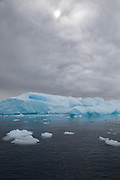 Blue ice, Antarctica