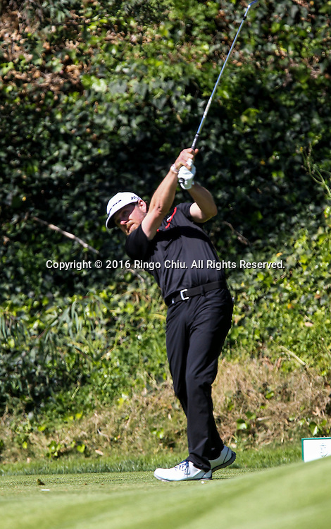 Justin Leonard plays in the Final Round of the Northern Trust Open at the Riviera Country Club on February 21, 2016, in Los Angeles,(Photo by Ringo Chiu/PHOTOFORMULA.com)<br /> <br /> Usage Notes: This content is intended for editorial use only. For other uses, additional clearances may be required.