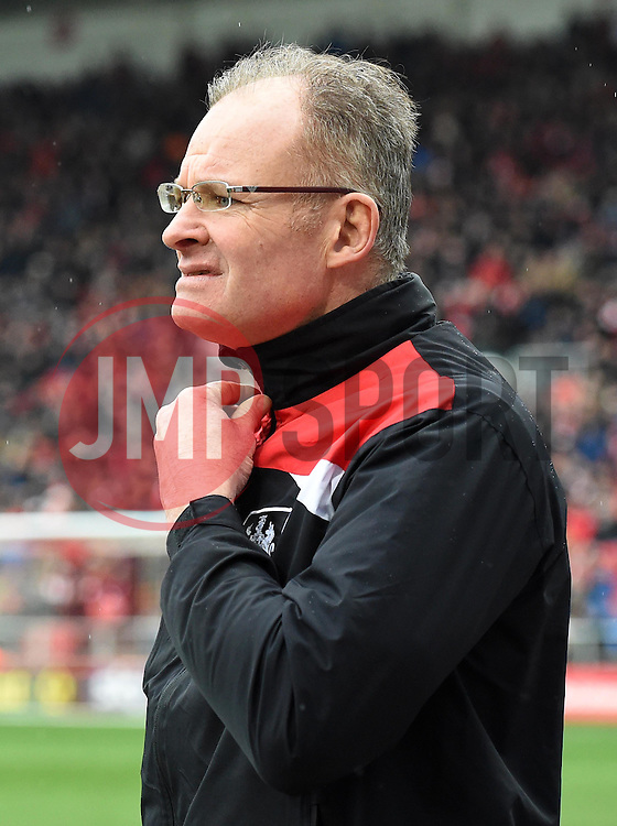 Bristol City goalkeeping coach David Coles - Mandatory by-line: Paul Knight/JMP - Mobile: 07966 386802 - 13/02/2016 -  FOOTBALL - Ashton Gate Stadium - Bristol, England -  Bristol City v Ipswich Town - Sky Bet Championship