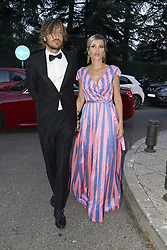 July 12, 2018 - Madrid, Spain - Ana Fernandez and Adrian Roma attend Vogue 30th Anniversary Party at Casa Velazquez on July 12, 2018 in Madrid, Spain. (Credit Image: © Oscar Gonzalez/NurPhoto via ZUMA Press)