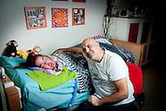Anouk Groenendijk met haar vader Dennis Groenendijk