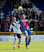 Inverness&rsquo; Ross Draper and Dundee&rsquo;s Nick Ross  - Inverness Caledonian Thistle  v Dundee, Ladbrokes Scottish Premiership at Caledonian Stadium <br /> <br />  - &copy; David Young - www.davidyoungphoto.co.uk - email: davidyoungphoto@gmail.com