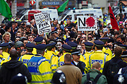 May Day protests, London, 2003