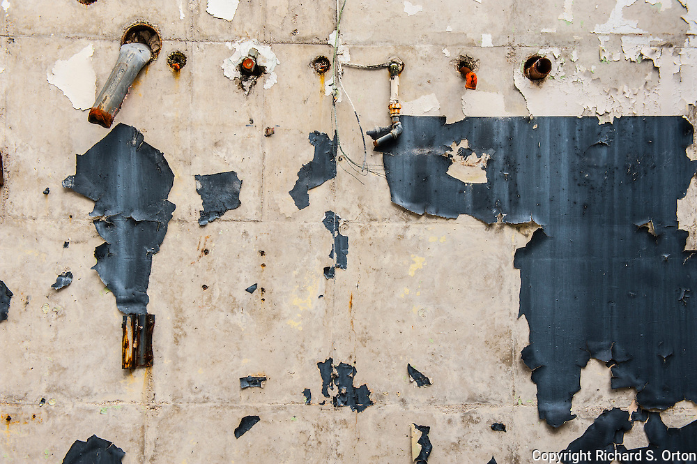 Photographs made in the ruins of the former Longhorn Army Ammunition Plant in Karnack, Texas.  It is now on the site of the Caddo Lake National Wildlife Refuge.