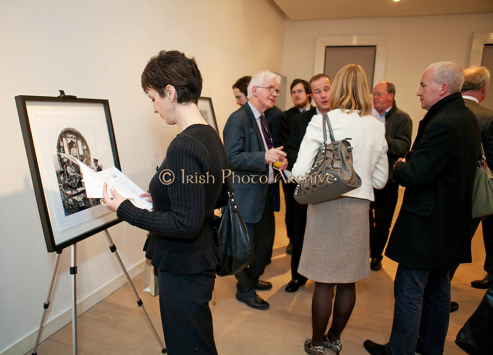 No Fee For Repro - Please Credit Paul SherwoodLaunch of The 1950's - Ireland in Pictures, by Susan Kennedy, from the Lensmen Photographic Archives at the RHA, Dublin.November 2012.For more info - Mary Patricia Gallagher 087 246 1393 or mp@gallagher-assoc.comPhotos - Paul Sherwood paul@sherwood.ie www.sherwood.ie 00 353 87 230 9096 Mobile Copyright ©?2012