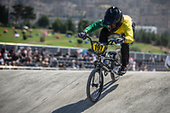 16 Boys #197 (RUSH Dylan) AUS at the 2018 UCI BMX World Championships in Baku, Azerbaijan.