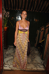 ANDREA DELLAL at a dinner hosted by fashion label Issa at Annabel's, Berekely Square, London on 24th April 2007.<br />