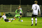 Forest Green Rovers Elliott Frear(11) during the Friendly match between Weston Super Mare and Forest Green Rovers at the Woodspring Stadium, Weston Super Mare, United Kingdom on 11 October 2016. Photo by Shane Healey.