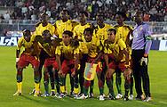 FUDBAL, BEOGRAD, 5. Jun 2010. - Reprezentacija Kameruna. Prijateljska utakmica izmedju Srbije i Kameruna odigrana u okviru priprema za Svetsko prvenstvo u Juznoj Africi. Foto: Nenad Negovanovic