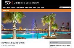 Global Real Estate Insight; skyline of Manama Bahrain