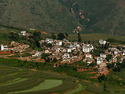 Honghe Hani village and Rice Terraces is the terrace located in the Honghe Prefecture, Yuanyang County, Yunnan, China. It is a world heritage site and the crops are mainly cultivated by the Hani and Yi ethnic minorities.