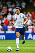 England defender Harry Maguire (Leicester City) during the UEFA Nations League 3rd place play-off match between Switzerland and England at Estadio D. Afonso Henriques, Guimaraes, Portugal on 9 June 2019.