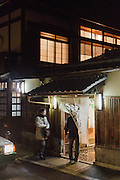 Kyoto, December 9 2015 - At Tama No Hikari sake brewery.